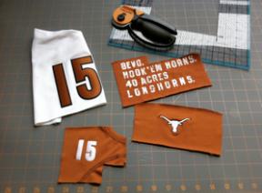 t-shirt quilt project step 2