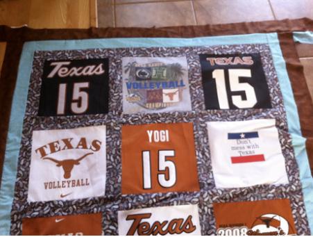 t-shirt quilt project final